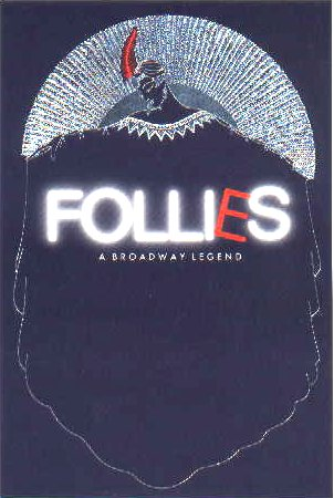 Follies, London Production [poster]