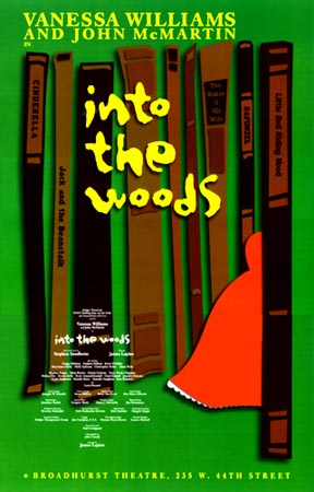 Into the Woods [2002 Broadway Revival poster]